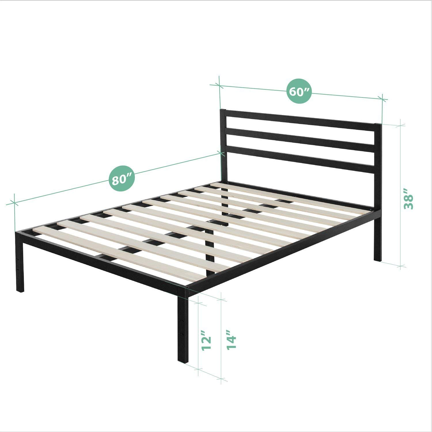 Features of the Platform bed frame