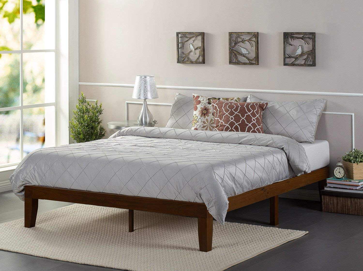 Zinus 12 Inch Wood Platform Bed review