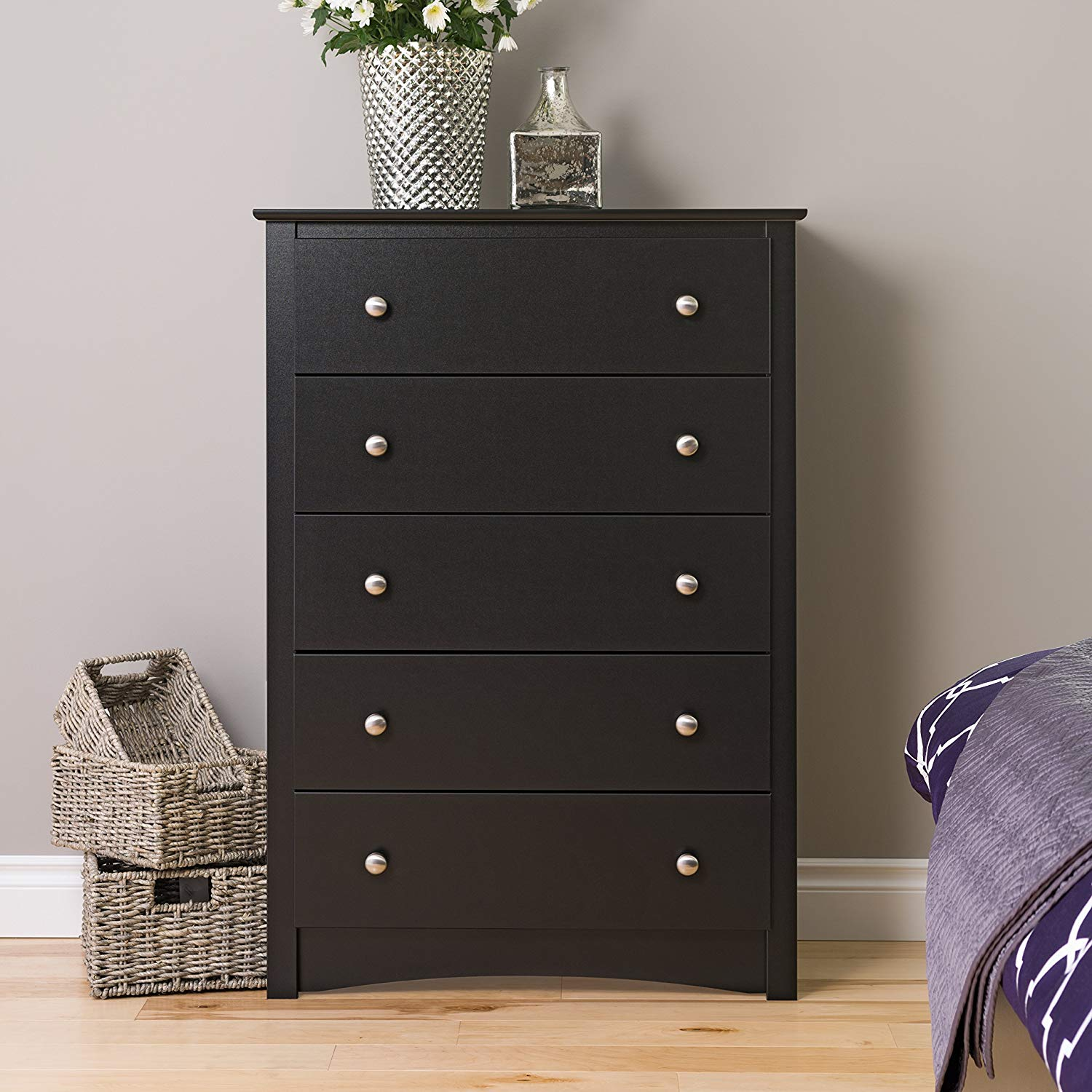 Black Sonoma 5 Drawer Bedroom Chest Review 2