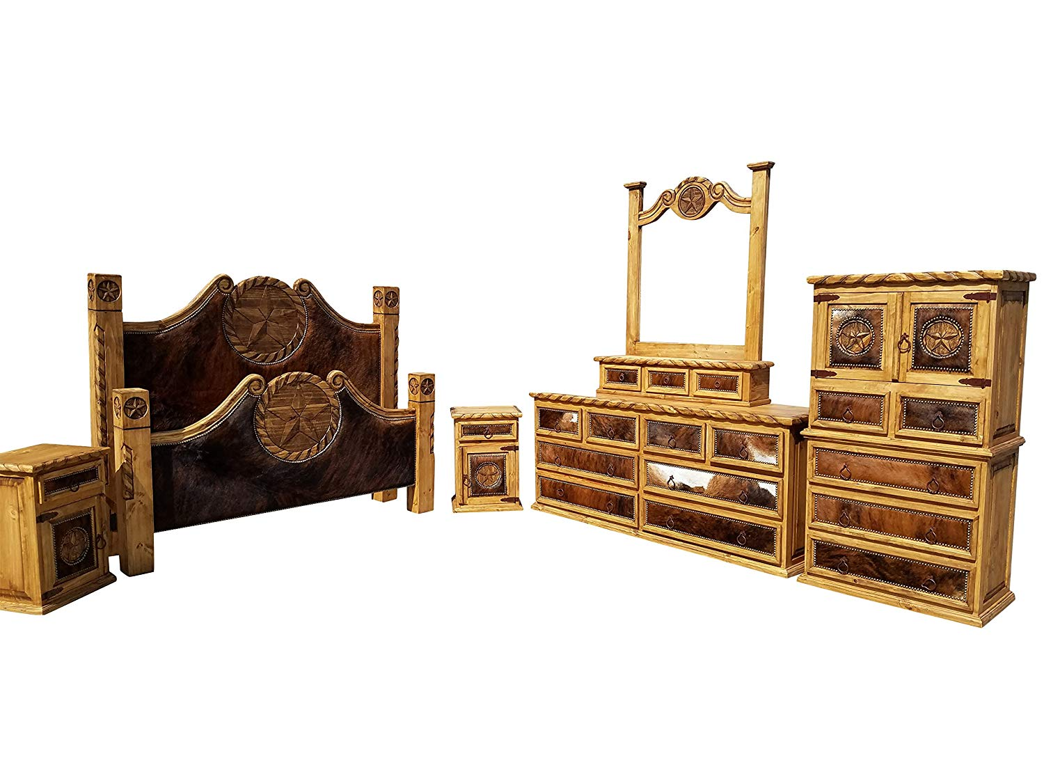 Rustic western bedroom sets
