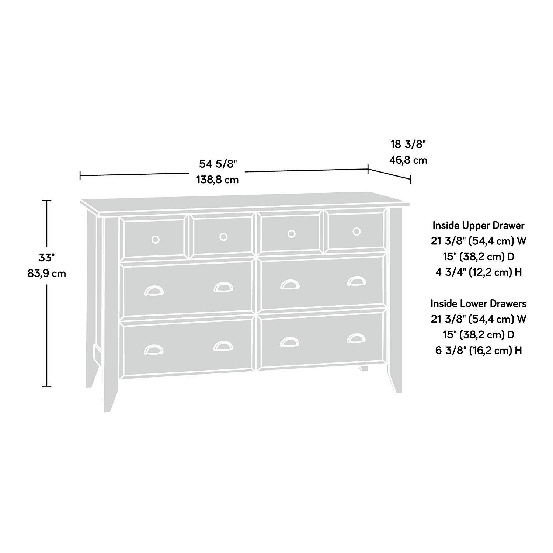 Sauder shoal creek dresser dimensions