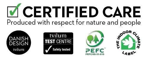 Tvilum Austin dresser certification