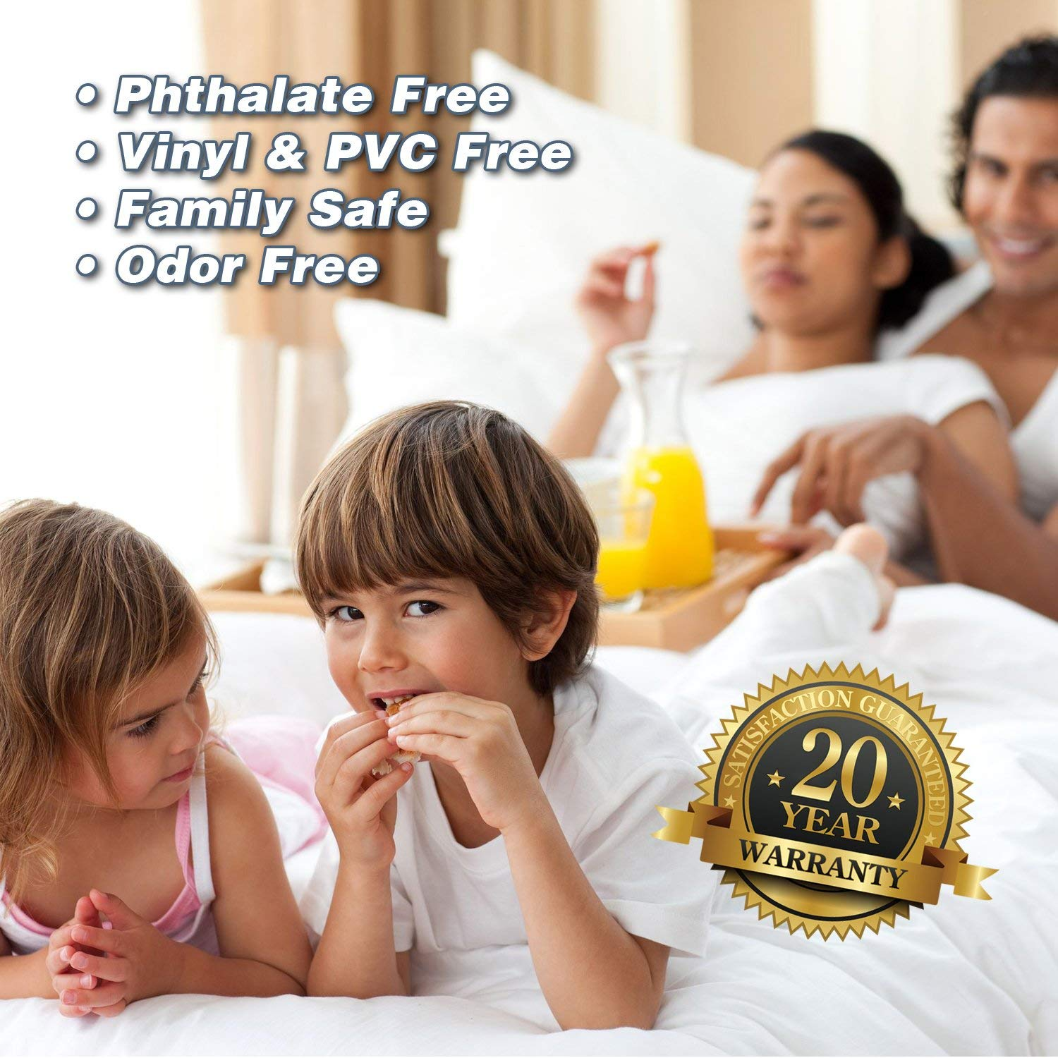 Advantage of UltraPlush Premium Waterproof Mattress Protector