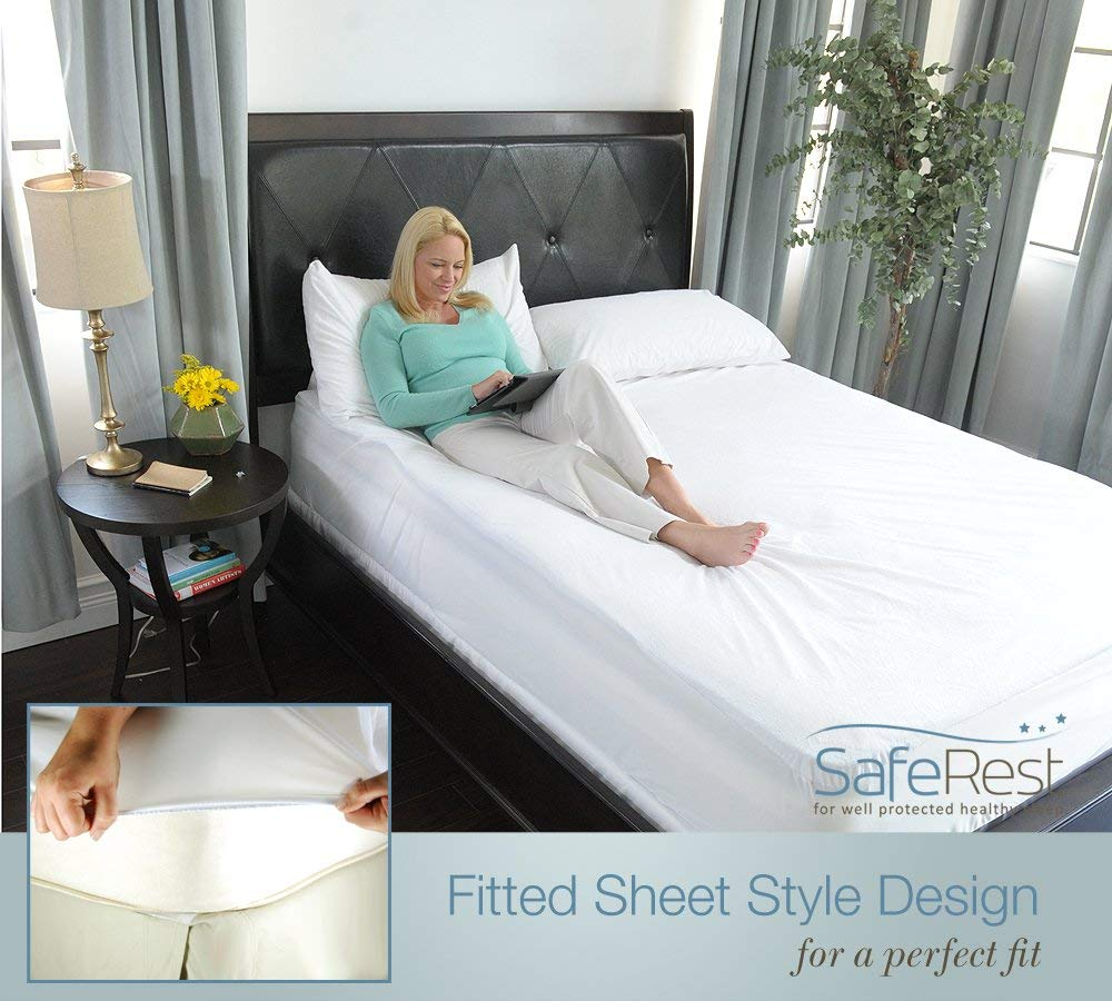 SafeRest fitted sheet style design