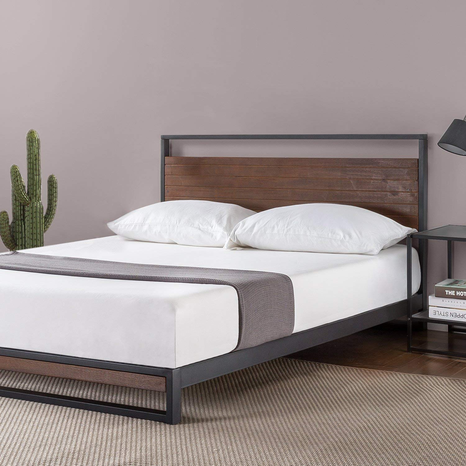 Why Everyone Choose This Zinus Platform Bed With Headboard
