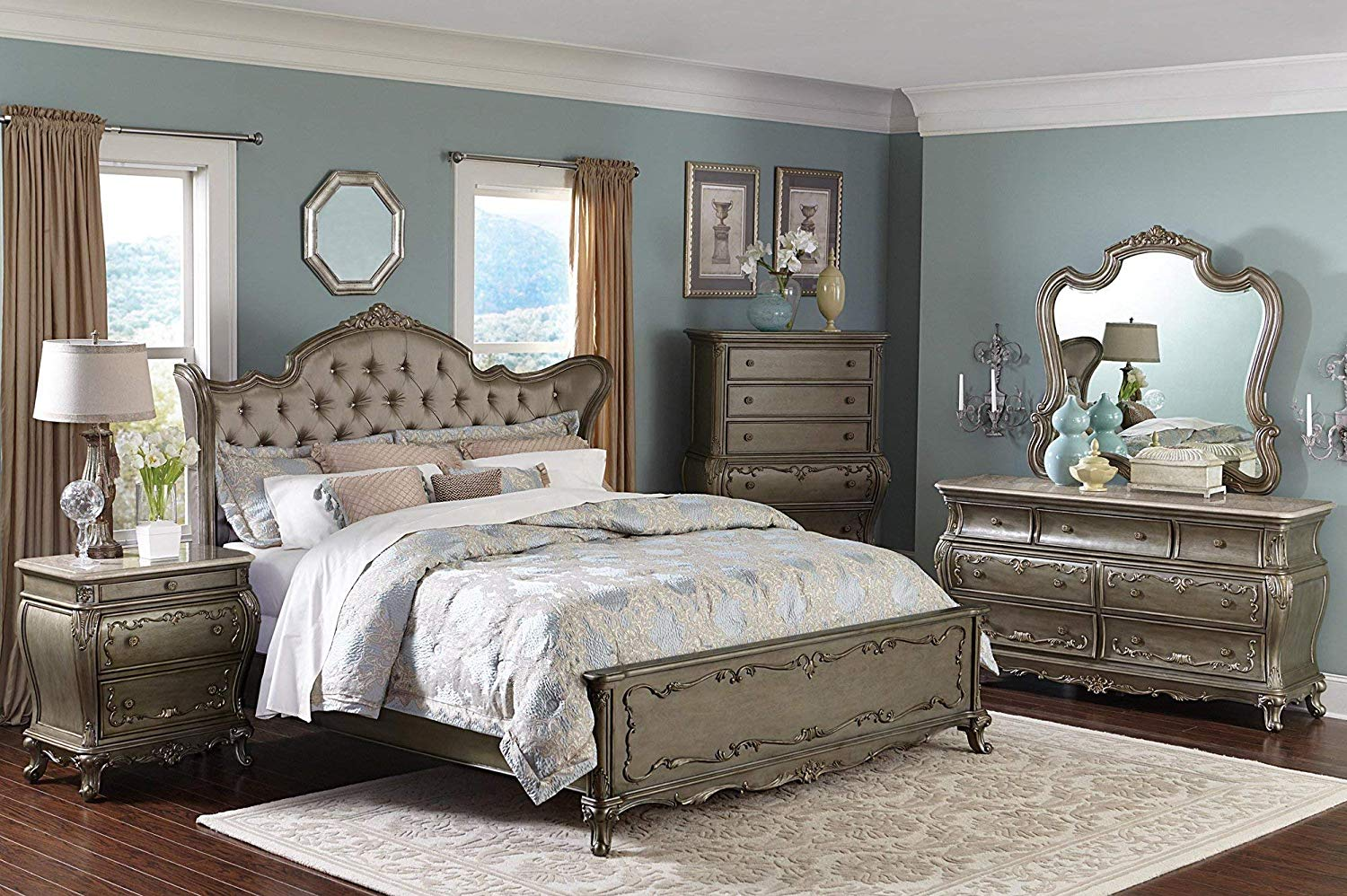 High-end bedroom set review