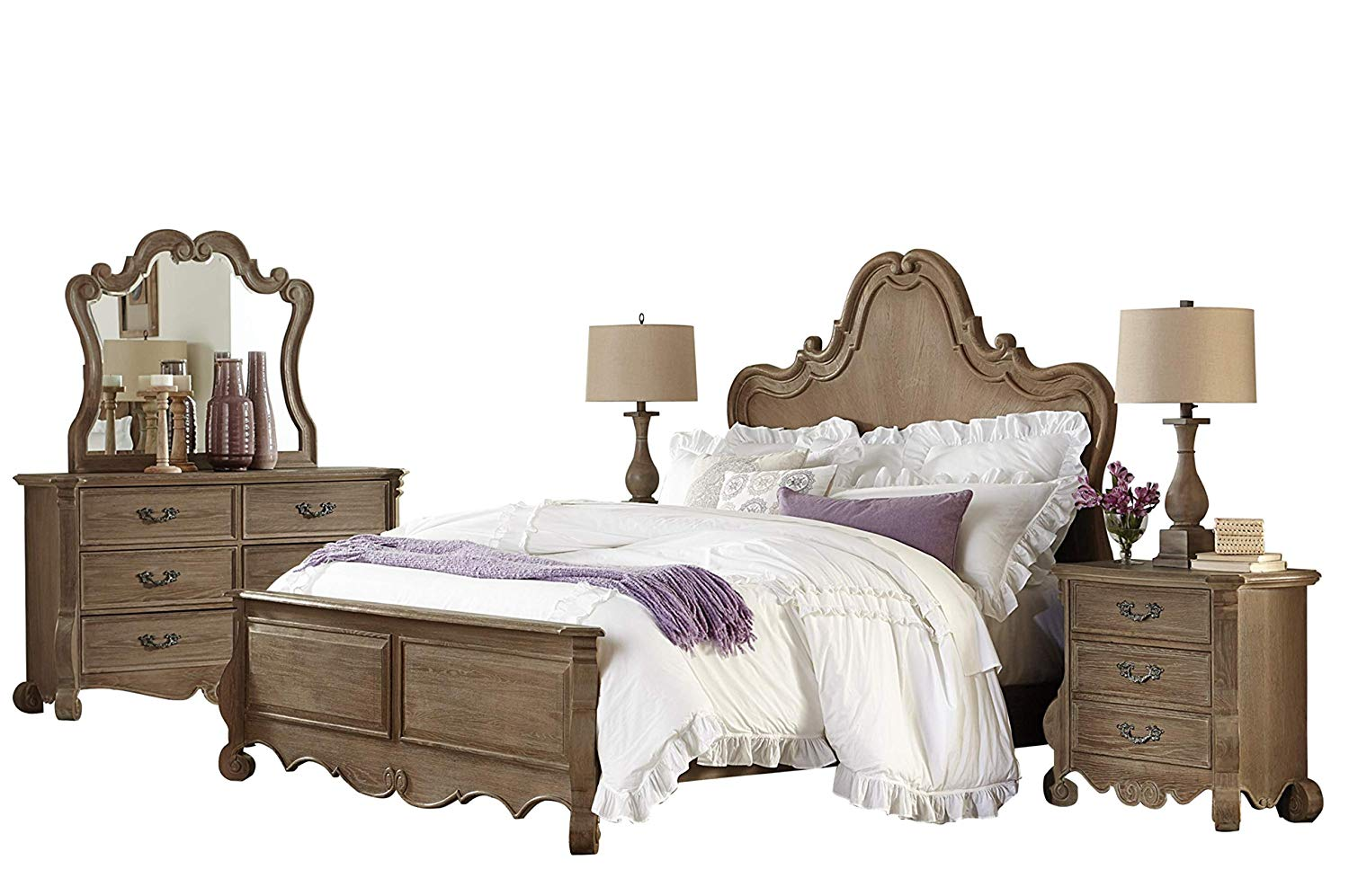 Luxury Brown Bedroom Set
