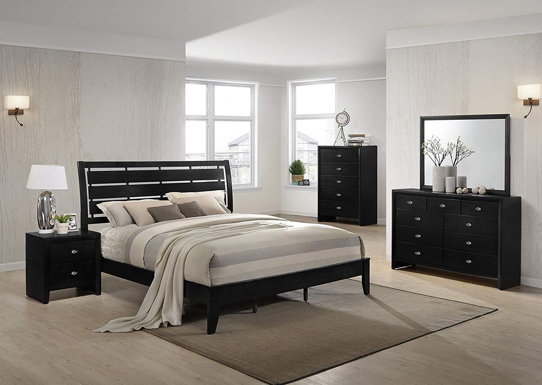 9 Drawers Dresser in bedroom looks