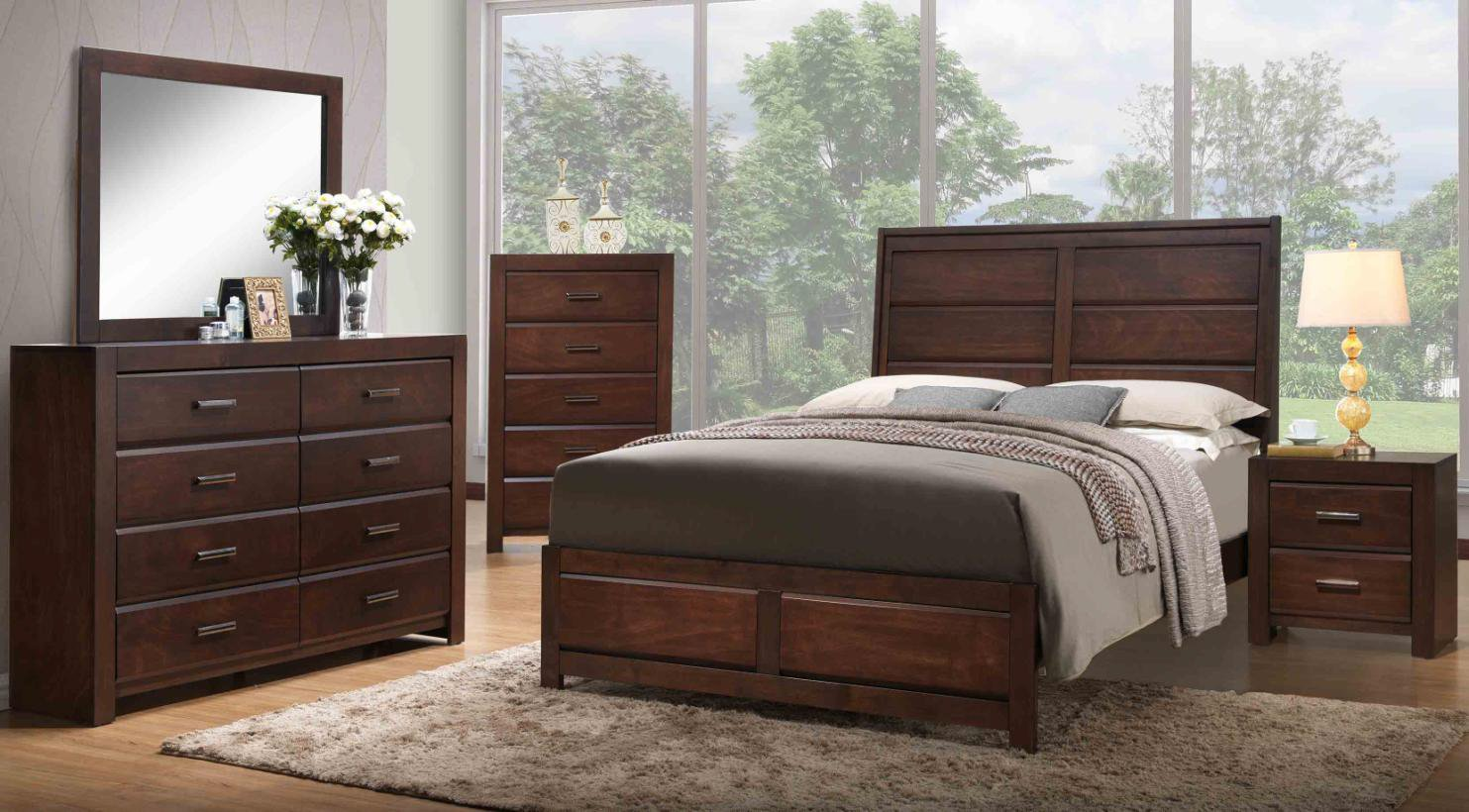 Aurora 6-Piece Bedroom Set Review by Kings Brand Furniture