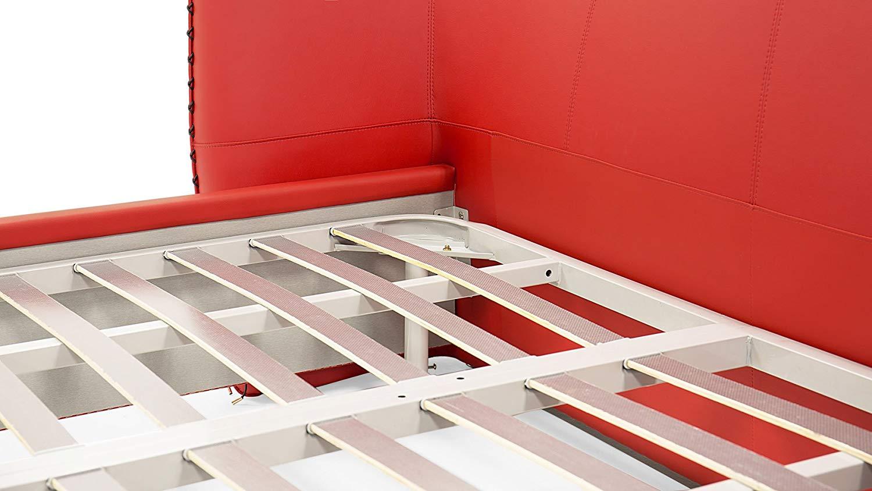 Modern Vitali bed frame with slat