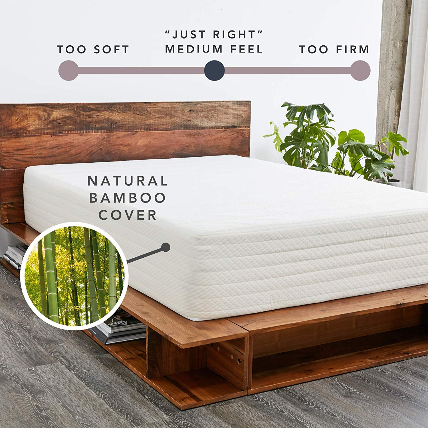 Natural Wool Sleep Surface and Bamboo Cover