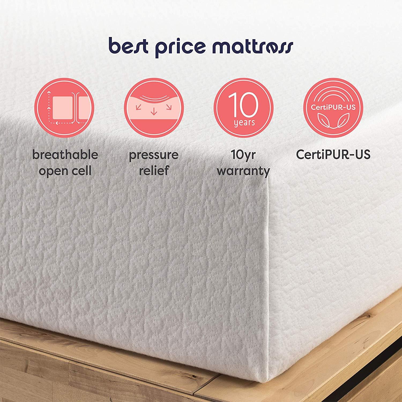 10 year warranty by Best Price Mattress