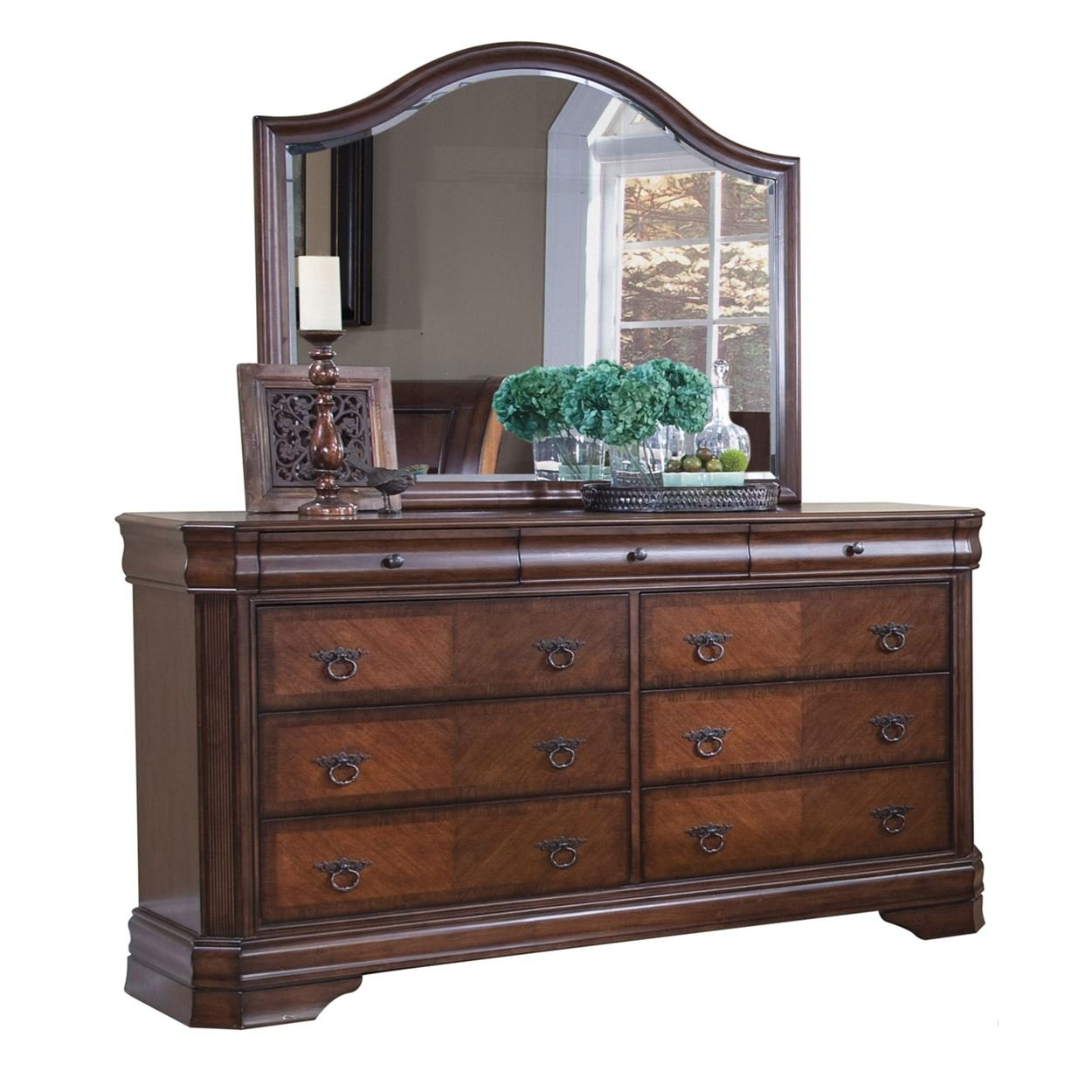 Luxury dressers with mirror by NCF