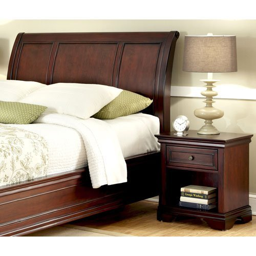 Bedroom set with night stand