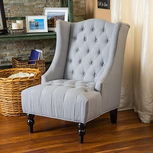 Clarice Accent High Back Club Chair by Christopher Knight Home