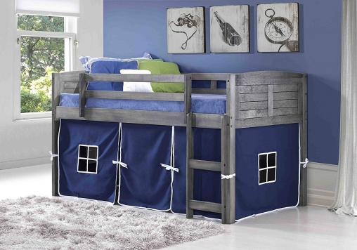 Discount twin loft bed by Donco Kid
